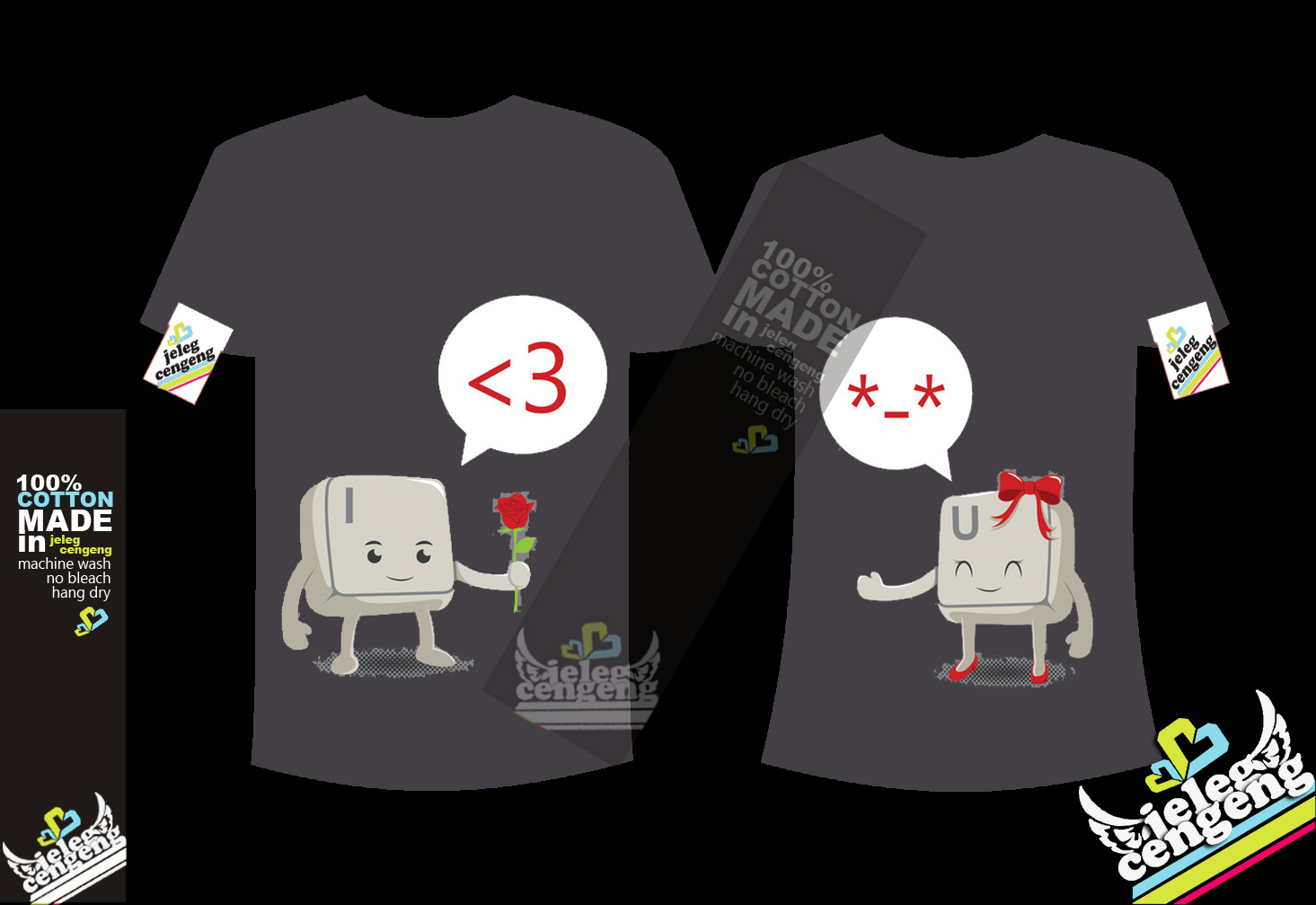 Kaos Couple Lucu