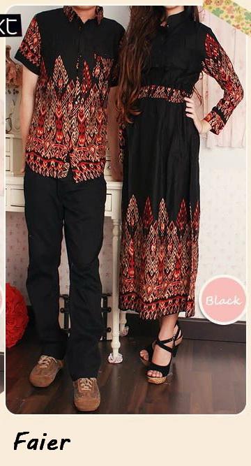 Gamis couple faier arga Baju gamis couple online
